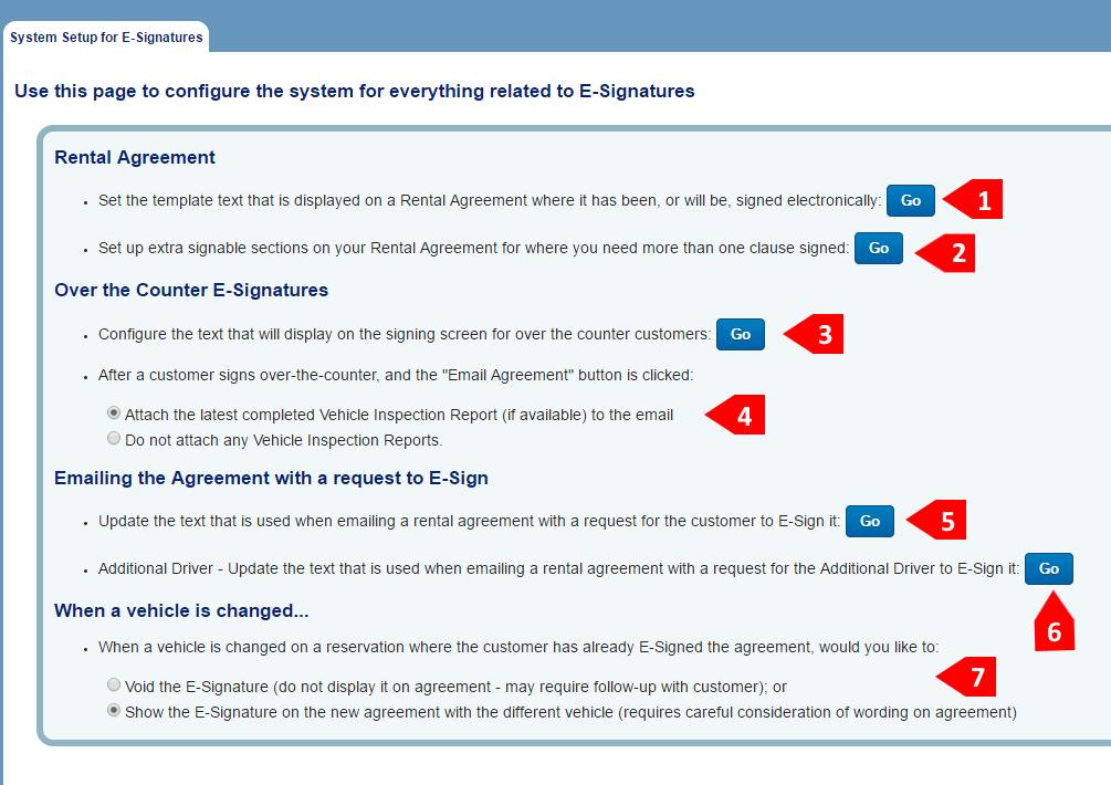 how to set up e signature