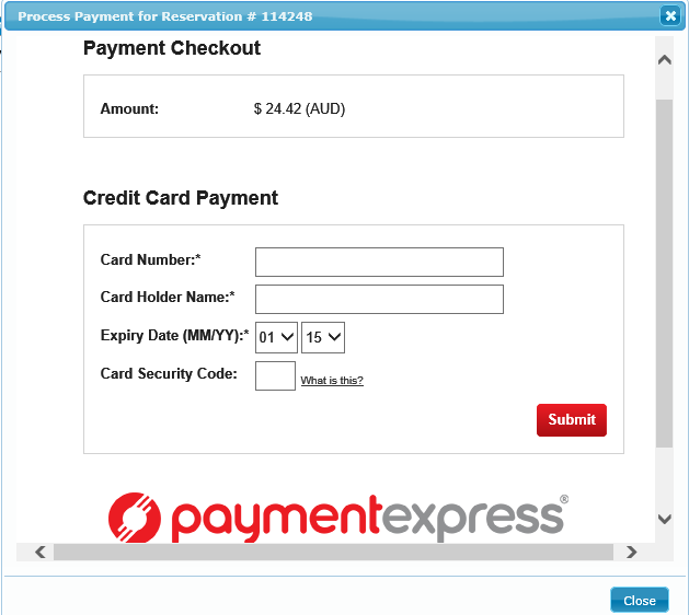 how to make credit card payment through neft